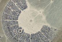 Burning Man || Bird's Eye View / #burningman impressions