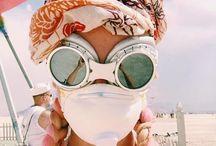 Burning Man || Goggles and Masks / #burningman impressions