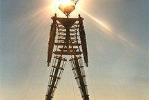 Burning Man || Sunrise Sunset