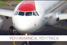 Yo ♥  Avianca, Yo ♥ TACA / Vuelve a vivir los mejores momentos y todas las experiencias que te hicieron gritar Yo ♥  Avianca, Yo ♥ TACA.