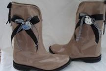 boots and wellies for women by elli lyraraki / handmade wellies