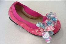 Handmade flats for little girls by elli lyraraki
