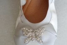 HANDMADE bridal ballerinas BY elli lyraraki / ellishoes.blogspot.com