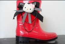 wellies for little girls by elli lyraraki / ellishoes.blogspot.com