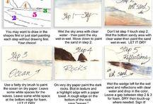 Tips de acuarela y pintura
