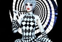 Freaky Night Circus is in Town! / Black circus, vintage circus, circus art