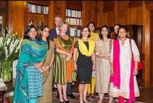 7th Anniversary India 2014 / Celebrate 7 years Women on Wings with a round table hosted by the the Embassy of the Kingdom of the Netherlands in New Delhi - photography by Women on Wings expert Marcel van Mourik