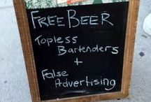 Funny Pub Signs / Pub owners in general, and especially the The Scottish, have a great wit about them and it's evident in these pub signs