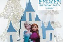 Lizzie's next Birthday Party...Frozen!!!! / by Michelle McGill