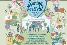 RHS Malvern Spring Festival / 7-10 May 2015  Garden designed by Kate Durr showcasing the UCARE tulip - come and see both Kate's garden and the UCARE stand.  We'll be on the grass near the featured gardens.  We are currently working on our theme....