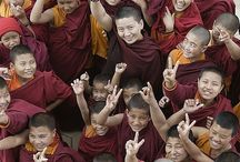 Buddhist Monks and Nuns / Please feel free to repin / by Ann Ketter