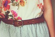 My kind of fashion ♥