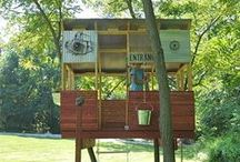Inspirational Houses / tree houses, ground houses