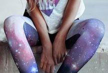 Galaxy Inspiration / #galaxy #prints #fashion