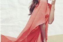 ♡ Coral ♡ / #coral #color #fashion