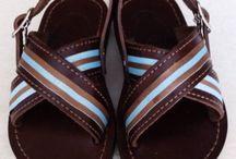 handmade men  sandals  designed by Elli lyraraki!!