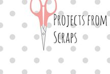 Easy diy sewing projects / Easy projects for using up your collection of fabric scraps. Beginners sewing projects for fashion and interior projects.