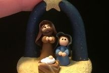 Polymer Clay Projects Christmas / fimo