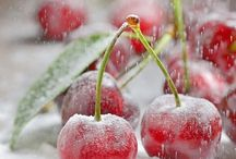 Sweet Cherries / Sweet red cherries and cherry red delights!