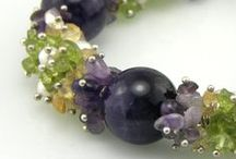 Jewelry from semi precious stone chips