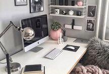 Desk space inspo