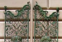 ferro battuto artistico wrought iron artwork / cancelli in ferro battuto artigianali artistici