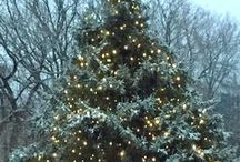 Christmas in Vermont / Christmastime and the holidays in Vermont, the best, most romantic place for Christmas