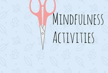 Mindfulness activities - how arts and crafts will help you with mindfulness / Crafting can be such good medicine. Here is a collection of ideas and inspirational quotes for using arts and crafts to aid mindfulness and reduce anxiety. Includes mindfulness activities and mindfulness for children.