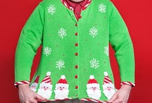 "Ugly Christmas Sweaters / ""Don we now our gay apparel, fa-la-la, fa-la-la, la, la, la!"""