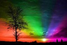 Setting: rainbows
