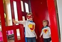 Pretend Play - Superheroes / by Encourage Play