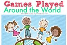 PLAY - Around the world / Games and activities from different countries around the world / by Encourage Play | Coping Skills for Kids