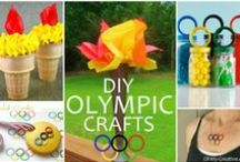 PLAY - Olympics / Olympics related crafts and activities - can be adapted for the summer or the winter olympics! / by Encourage Play | Coping Skills for Kids