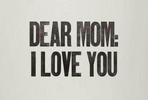 For my mummy / Thank you that you gave me life and  You 're always next to me