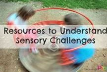 Sensory / All things sensory, including play ideas and explanations to help understand sensory processing disorder and other sensory issues. / by Encourage Play | Coping Skills for Kids