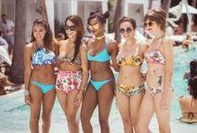 WET Swimwear at Miami Swim Week 2014 / WET Swimwear bloggers at Miami Swim Week 2014+ WET pool party