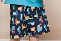Sewing for Boys / Sewing tutorials, patterns and inspiration for boys. Pants, shirts, shorts and ties. How to sew smart clothes for the little boy in your life!