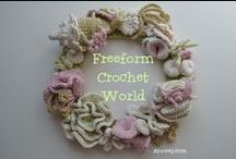 F.C.W. Beginners / Freeform Crochet World Group Advice, tutorials, and patterns for new freeform crocheters.