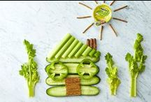 Fun with Food / Giving moms a little inspiration to play with food.