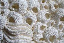 Freeform Crochet Art / Freeform crochet sculptures and 3D objects