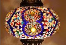 Turkkilaisia valaisimia - Turkish Lamps