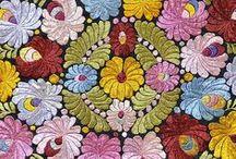Unkarilaista kirjontaa - Hungarian Embroidery