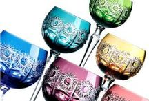 Saksalaista ja böömiläistä lasia ja kristallia - German and Bohemial Glass and Crystal