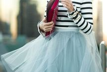 Tulle and stripes
