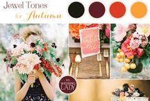 Autumn Weddings / Style insights and table setting ideas for autumn weddings.