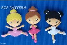 Sewing Dolls and Doll Clothes / Fun and pretty doll sewing patterns and tutorials, and clothes for dolls - from Barbie dolls, to Cabbage Patch Kids and American Girls.