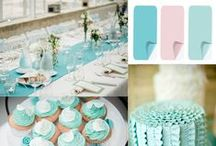 Tiffany Weddings / Style inspiration for tiffany weddings. From tiffany napkins to tiffany table linens and dresses, draw insights from these collections of tiffany-inspired wedding images.