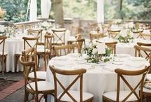 White Weddings / A collection of white wedding inspiration photos, from tabletop decor to venue elements. We also included the best selection of white tablecloths, white table runners, white cloth napkins and placemats for weddings, hotels, and restaurants. Just all the best and chic details for an amazingly-styled white wedding.