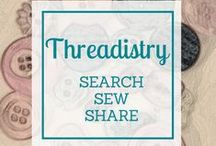 Threadistry / All the sewing inspiration you need from Threadistry. Search for the perfect sewing pattern or tutorial, share your own sewing projects, review patterns, plus sewing tips, tricks and techniques.