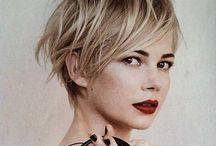 Pixies/crop / Go wild or delicate with a mix of pixies, cropped and soft haircuts ! We got them all !
